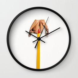 pedestal Wall Clock