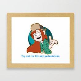 Wendy's Words of Wisdom Framed Art Print