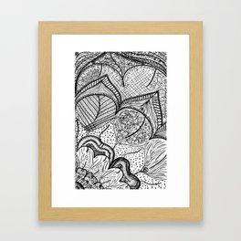 Hidden Message Framed Art Print