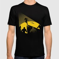 Endless Chase Black MEDIUM Mens Fitted Tee