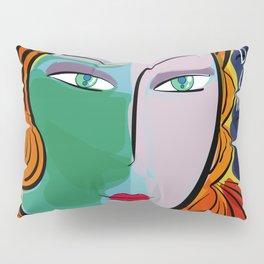 Une étoile dans la nuit French Pop Girl Art Decoration Pillow Sham