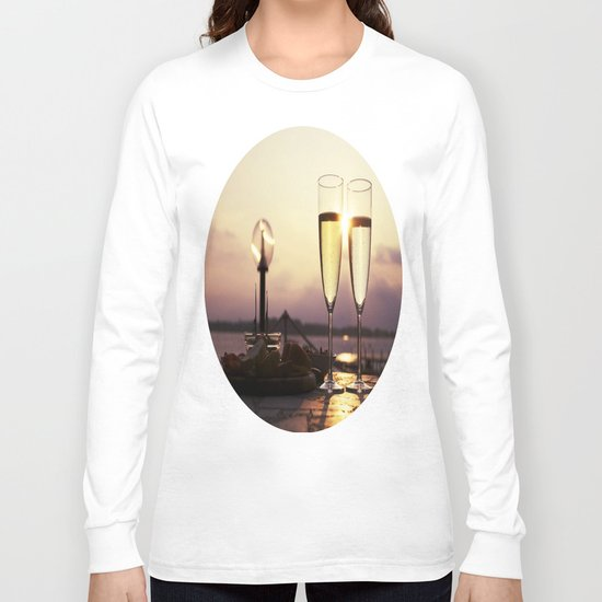 Champagne Date Long Sleeve T-shirt