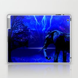 ELEPHANT LIGHTNING AND AFRICAN NIGHTS Laptop & iPad Skin