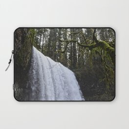 Middle North Falls - Silver Falls State Park Laptop Sleeve