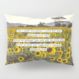 Jeremiah Sunflowers Pillow Sham