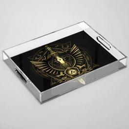 Zelda Sword Acrylic Tray