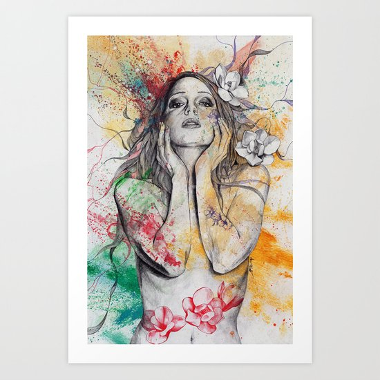 The Withering Spring Art Print