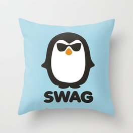 SWAG Pinguin Throw Pillow