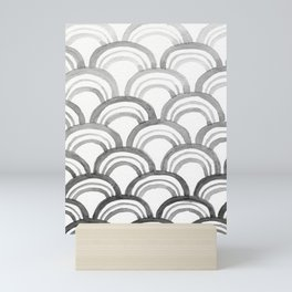 Wave Pattern Two Mini Art Print