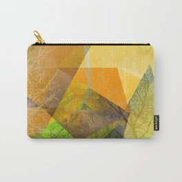 P24 Trees and Triangles Carry-All Pouch