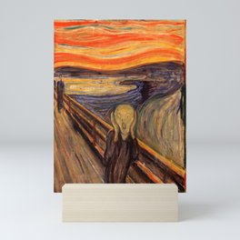 "Edvard Munch ""The Scream"", 1893 Mini Art Print"