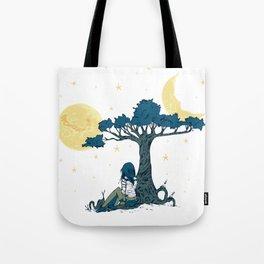 Wonder Girl Fantasy Art Tote Bag