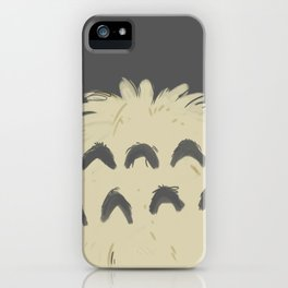 toto ro belly iPhone Case