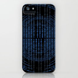 Binary Code iPhone Case