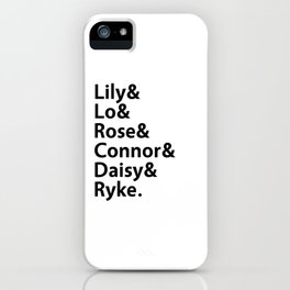 Addicted Series Gang White iPhone Case