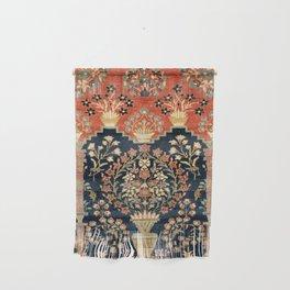 Kashan Poshti  Antique Central Persian Rug Print Wall Hanging