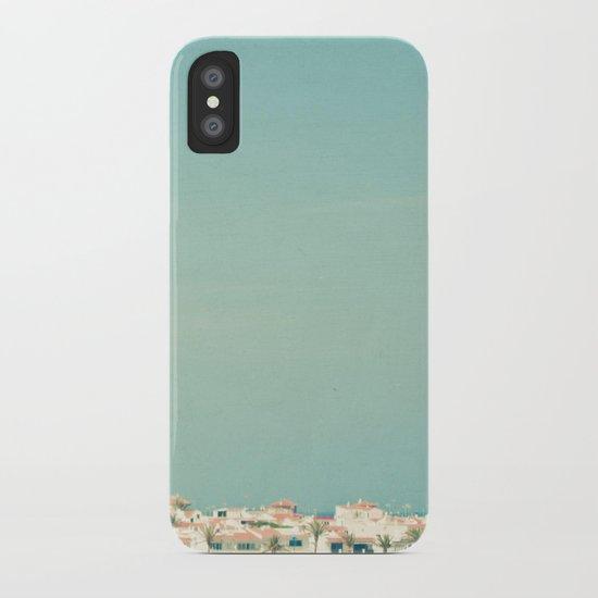 Mediterranean Skyline iPhone Case