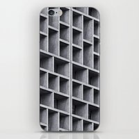 grid iPhone & iPod Skins featuring Grid by Cameron Booth
