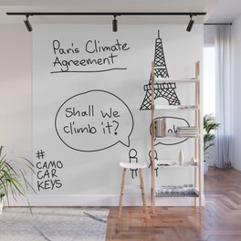 Paris Climate Agreement Wall Mural