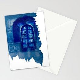 Door in Pushkar - India by Mindia Stationery Cards