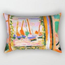 Henri Matisse Open Window Rectangular Pillow