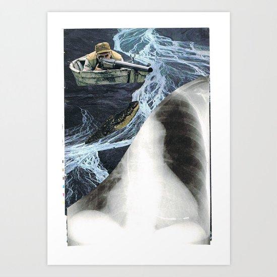 killer escape... Art Print