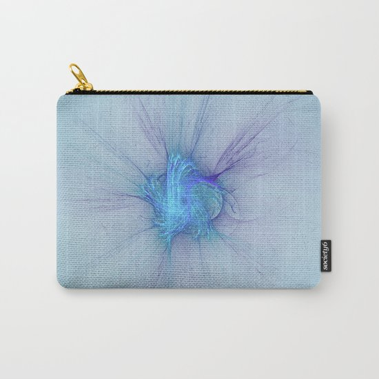 New Year Burst Fractal Carry-All Pouch