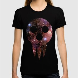 soul eater: lord death mask space T-shirt