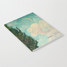 Cypresses - Van Gogh Notebook