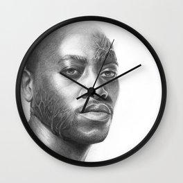 Dr. Foreman-House MD-Omar Epps-Portrait Wall Clock