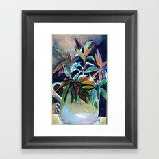 Blue Pitcher Framed Art Print