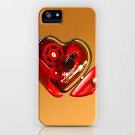 Clockwork Heart iPhone Case