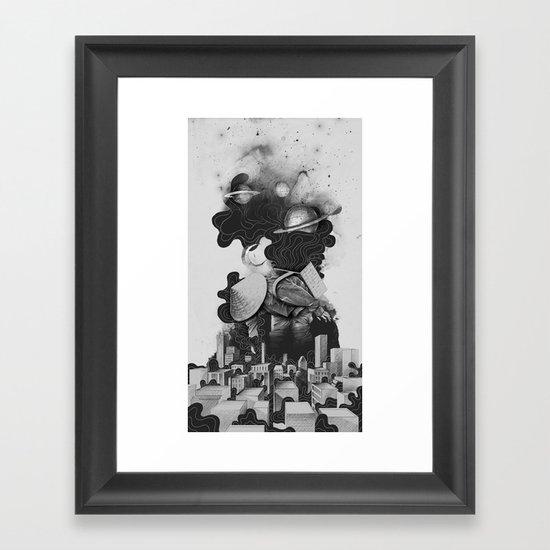 The Night Gatherer Framed Art Print