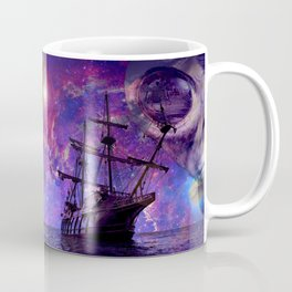 Sailing the Galaxy Coffee Mug