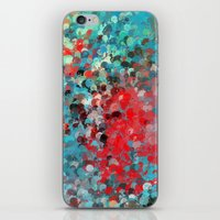 splatter iPhone & iPod Skins featuring Splatter by Steven Rogers