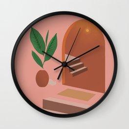 Hidden Cat 2 Wall Clock