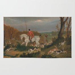 The Suffolk Hunt - John Frederick Herring Rug