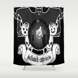 Hallowed Capriccio logo Shower Curtain