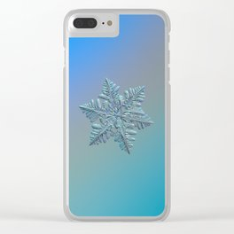Real snowflake - 13 February 2017 - 5 alt Clear iPhone Case
