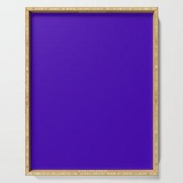 Yahoo Purple - solid color Serving Tray
