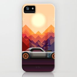 Into the Sun, Ford Mustang 65 KB iPhone Case