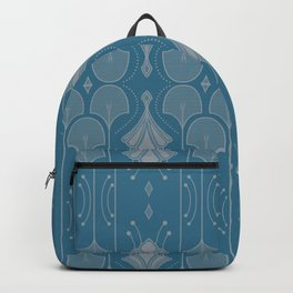 Art Deco Botanical Shapes Backpack