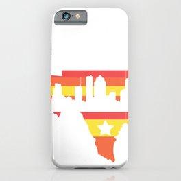 Houston Texas Flag State USA Gift iPhone Case