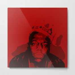 The Notorious BIG: King OF Brooklyn Metal Print