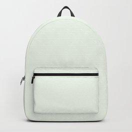 Behr Unwind (Soft Pastel Green) GR-W05 Solid Color Backpack