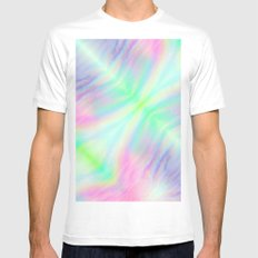Iris White Mens Fitted Tee MEDIUM