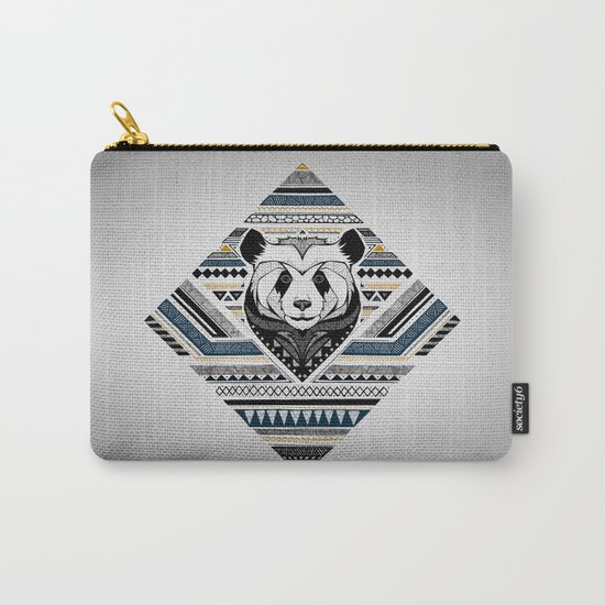 Indian Panda Carry-All Pouch