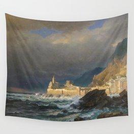 William Stanley Haseltine - Porto Venere, Spezia, Italy Wall Tapestry