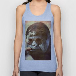 Gorilla in the Mist Unisex Tank Top