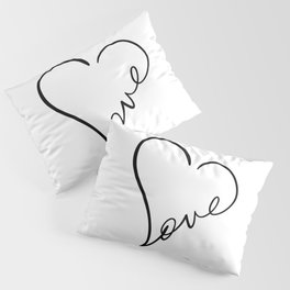 Love Sign Pillow Sham